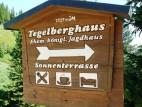 Wegweiser zum Tegelberghaus