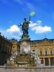 Frankonia-Brunnen: Der Frankonia-Brunnen vor der Residenz
